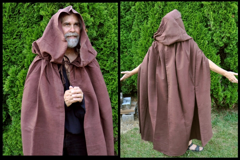 brown woodsman s cloak free usa shipping clkw 125 00